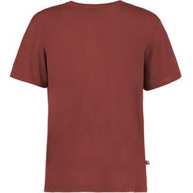 E9 Guitar T-Shirt Men Wine